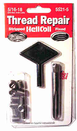 Heli-Coil Thread Repair Kits